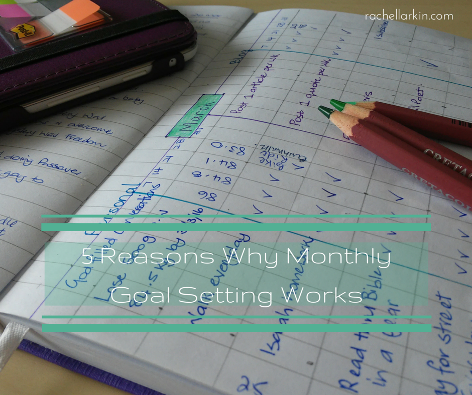 5 Reasons Why Monthly Goal Setting Works